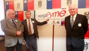 Lanzamiento de DespegaPyme en el Ministerio de Hacienda.