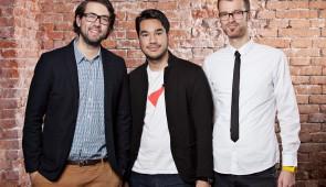 El equipo fundador de la app Vamos.