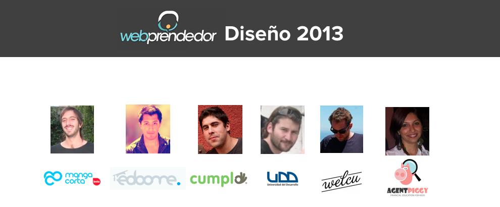 El último Webprendedor del año: Diseño 2013