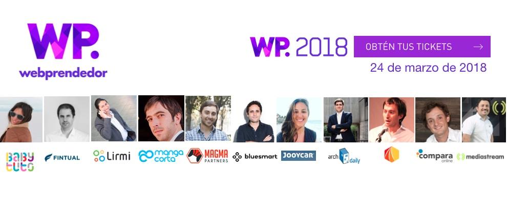 Webprendedor 2018: Celebramos 10 años.